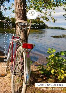 ENTRE-DEUX-MERS TOURISME - CARTE CYCLO 2021
